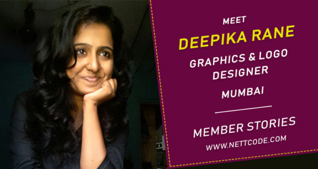 Meet Deepika Rane a freelance Graphics and Logo Designer in Mumbai