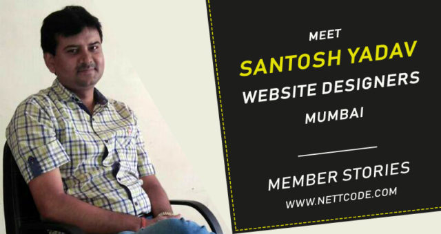 Meet Santosh Yadav a freelance website designers and Developers in Mumbai