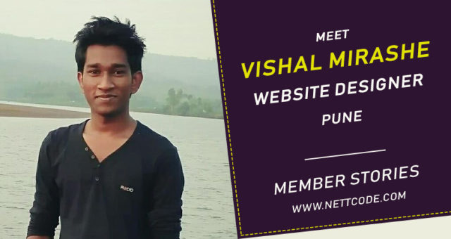 Meet Vishal Mirashe a freelance Website Designer in Pune
