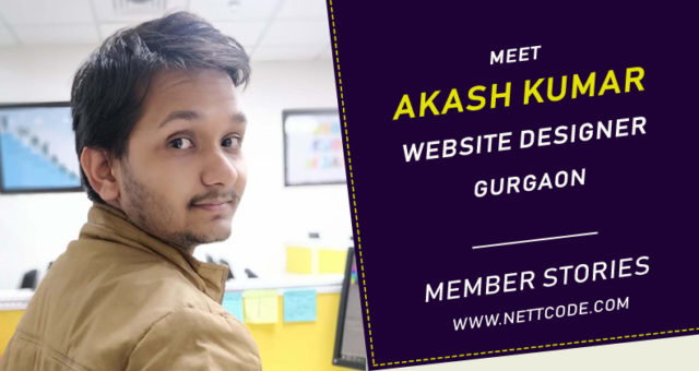Meet Akash Kumar a freelance Website Designer in Gurgaon