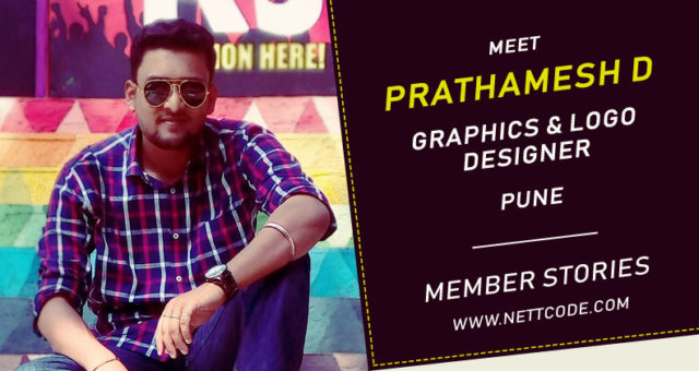 Meet Prathamesh D a freelance Graphics and Logo Designer from pune