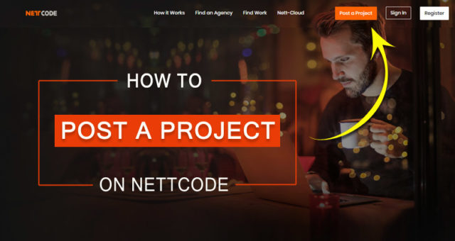 How to post a project on Nettcode
