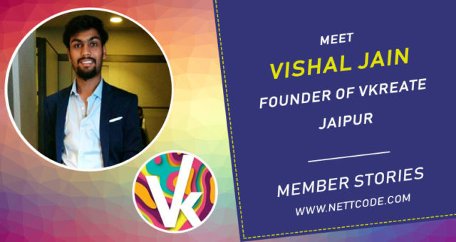 Meet Vishal Jain Founder Of Vkreate from Jaipur