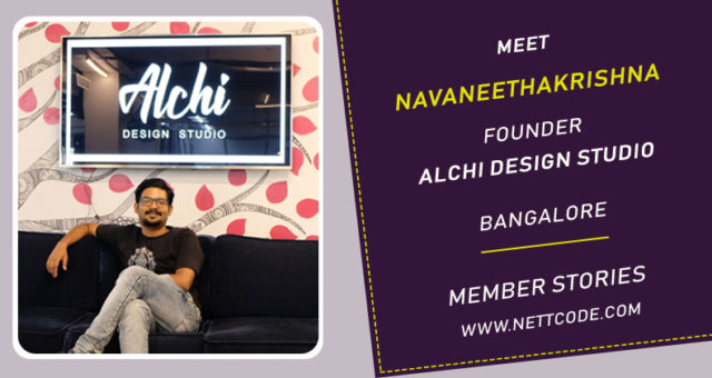 Meet Navaneeth Founder of Alchi Design Studio from Bangalore