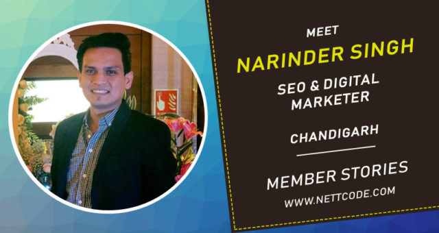 Meet Narinder Singh a freelance digital marketer from Chandigarh