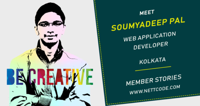 Meet Soumyadeep Pal a freelance Application Developer from Kolkata
